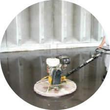 Concreto com Aplicação de Endurecedor Químico de Superfície